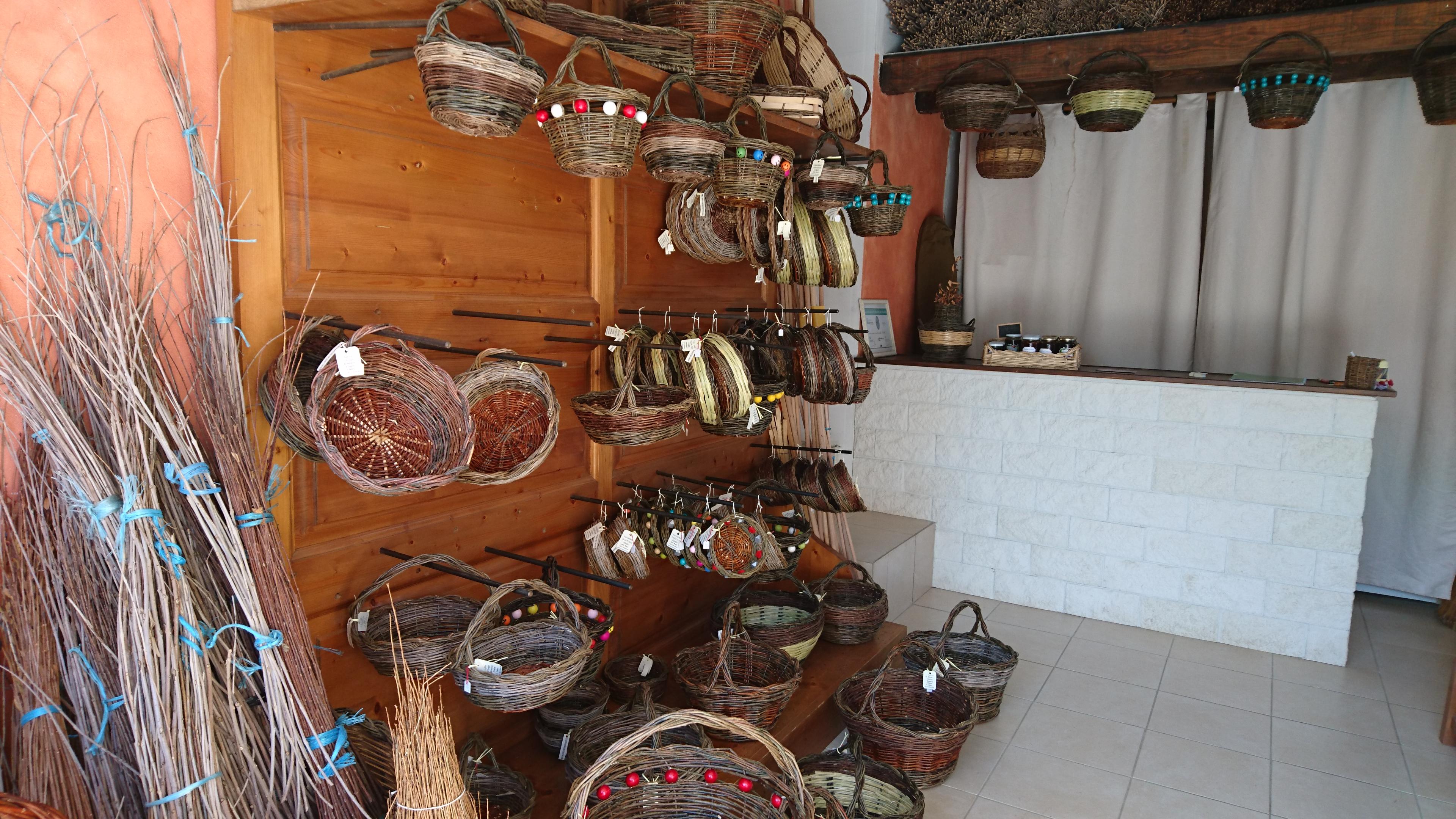 L 'atelier et magasin vente sur place